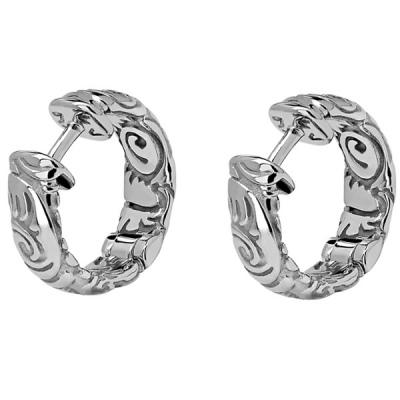 Серьги коллекции Totem  Fox/Лиса из серебра от Небо в алмазах